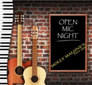 MONDAYS: Open Mic for Musicians @ Molly Malones | Helsinki | Finland